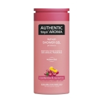 Authentic toya Aroma Cranberries & nectarine, sprchový gel 400ml