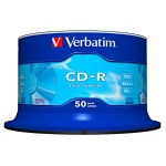 CD-R Verbatim DL 700MB 52x Extra Protection 50ks