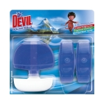 Dr.Devil WC tekutý 3x55ml polar aqua